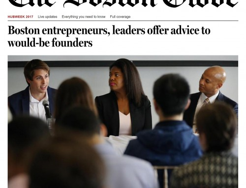 Casseus Law in The Boston Globe: Boston entrepreneurs, leaders offer advice to would-be founders; HUBweek Panel