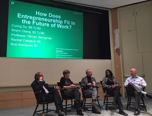 "Rachel Casseus Speaking at the Dartmouth Symposium, ""The Future of Work in an Accelerated Era"", Held on Friday, April 20, 2018 in Hanover, New Hampshire"